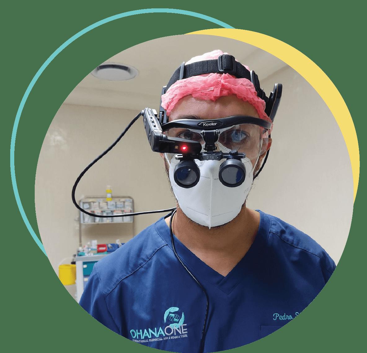 Dr. Pedro Santos wearing Vuzix Smart Glasses
