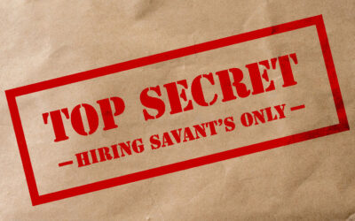 Three Reasons You Should Hire One Exclusive Recruiter: Intel for HR Savant's