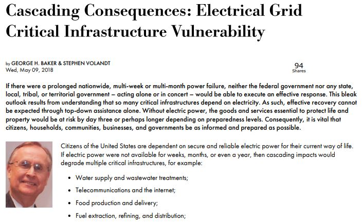 Electrical Grid Failure