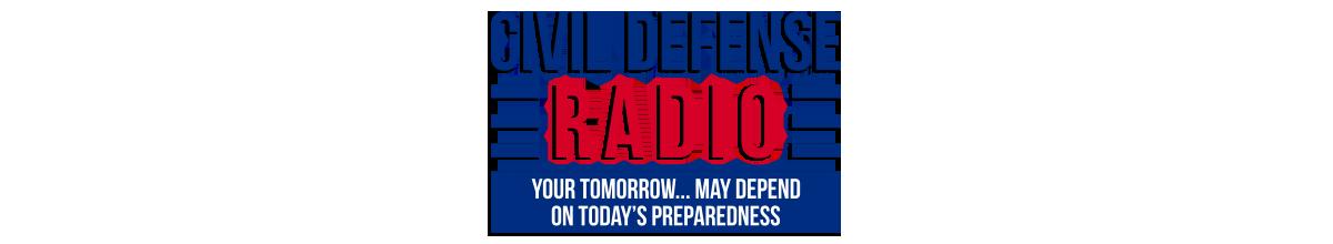 Civil Defense Radio Logo