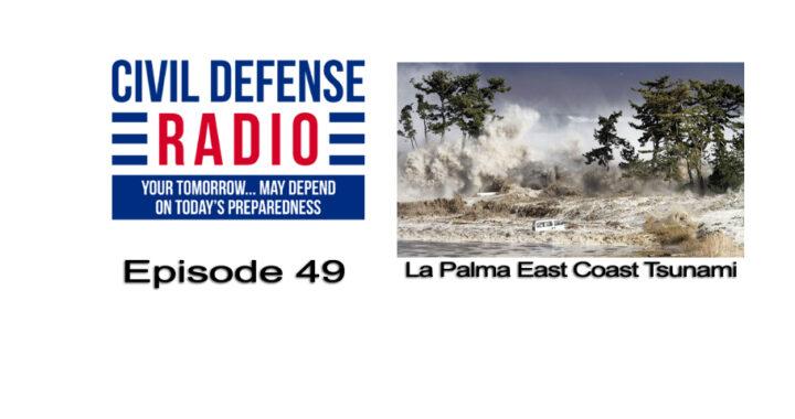 La Palma East Coast Tsunami