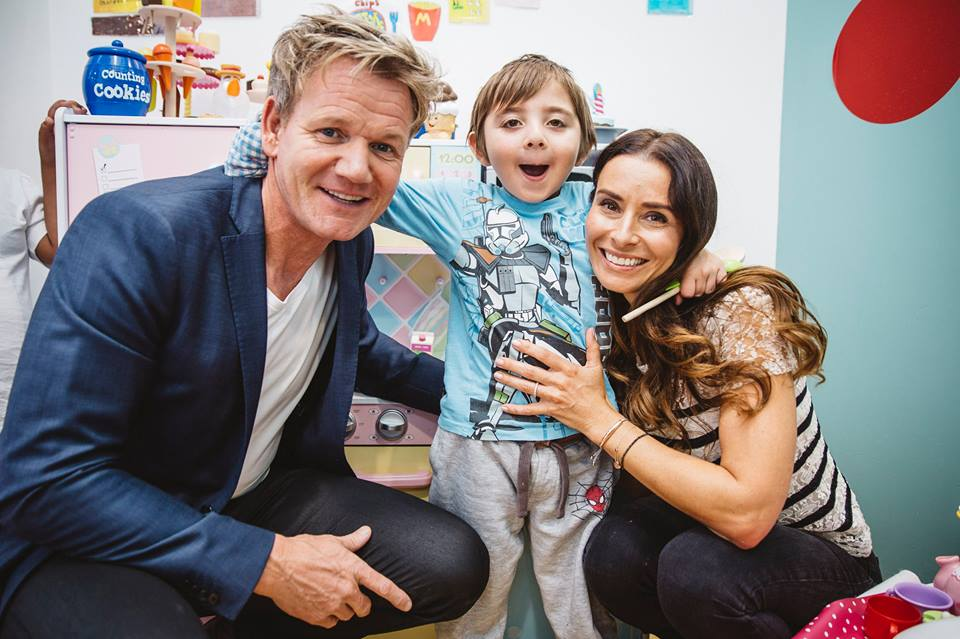 Gordon and Tanas foundation raises vital funds to support Great Ormond Street Hospital Children's Charity. Facebook)