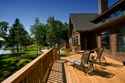 Quality decking material for any back yard job