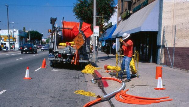 inserting fiber network