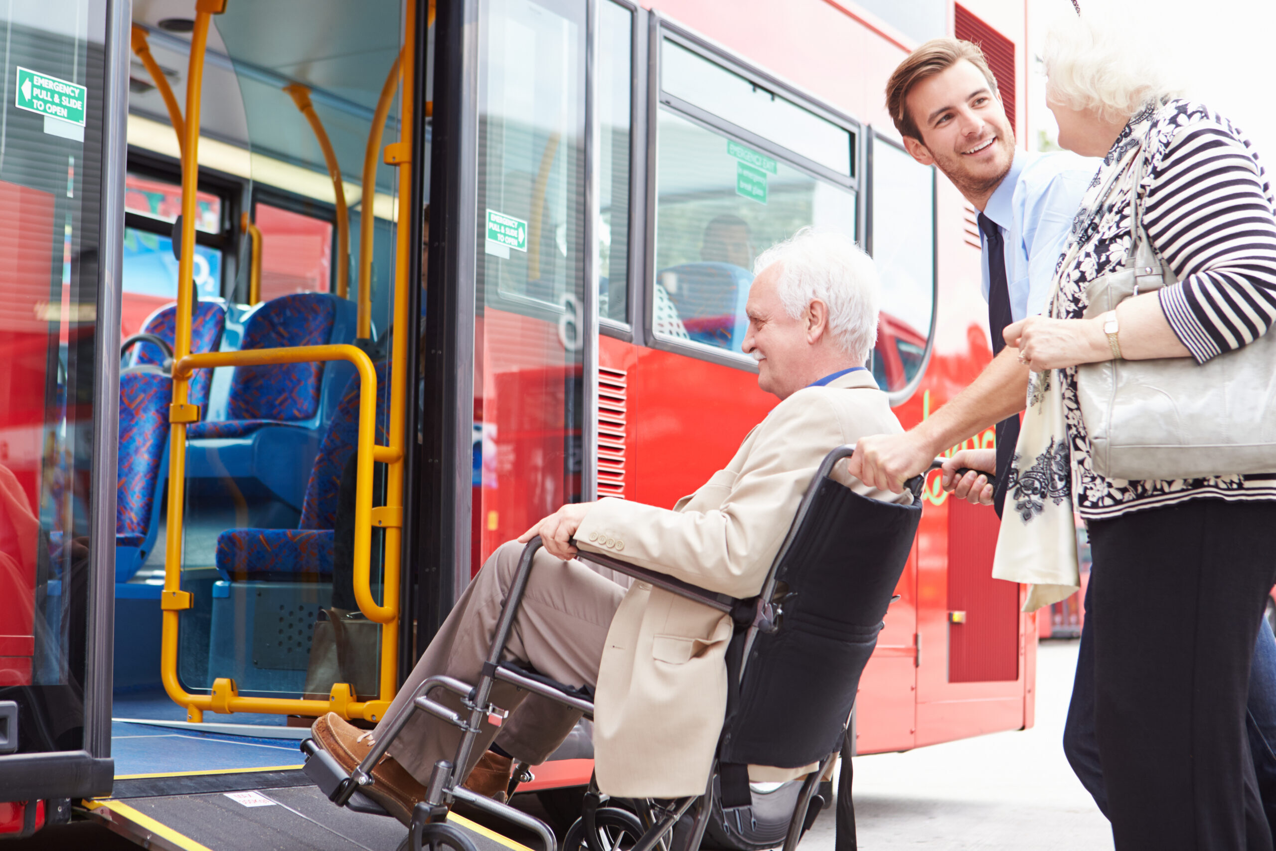 Transportation for people with developmental disabilities.