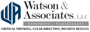 Watson and Associates Federal Government Contracts Attorney For Cure Notices