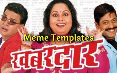 Khabardar Movie Dialogues Meme Templates