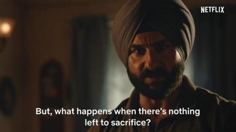 Sartaj Singh sacred games 2 meme templates