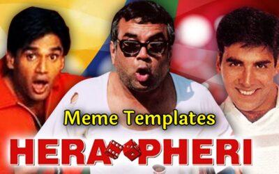 Hera Pheri Meme Templates