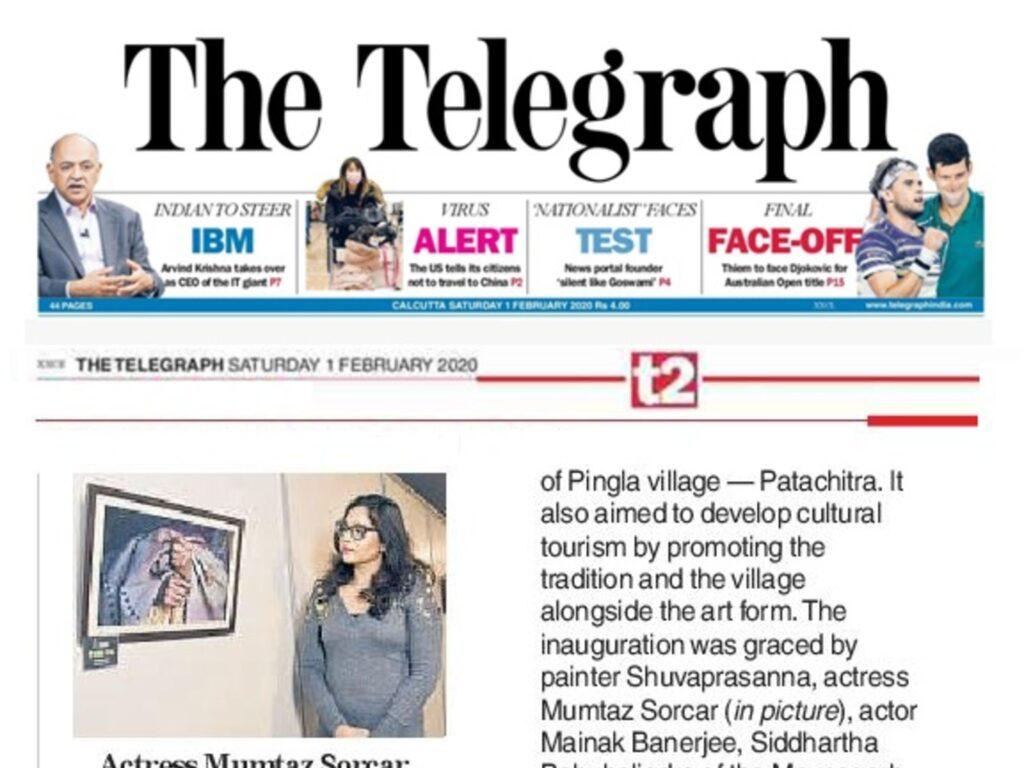 Telegraph — T2 01st Feb 20