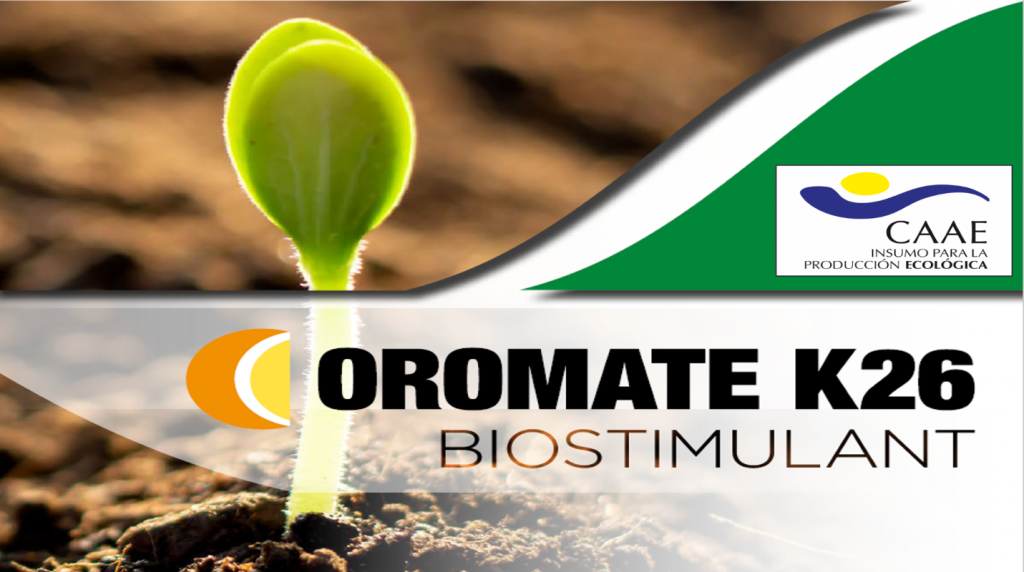 OROMATE K26™ authorized for organic farming in Spain