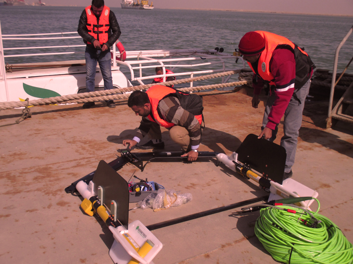 marine safety for our geophysical survey team