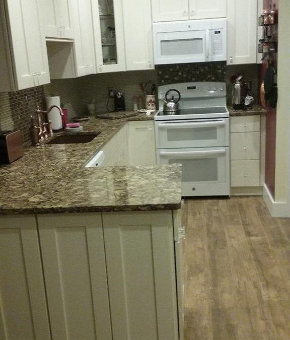 flooded kitchen bayshore