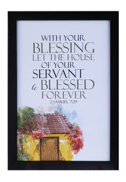 With Your Blessing Let The House