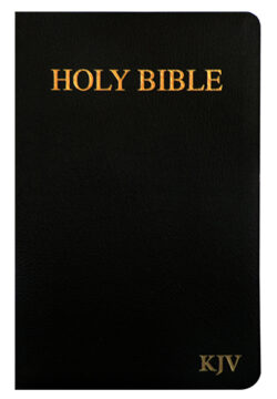 KJV Holy Bible – Bonded leather – black, thumb Index