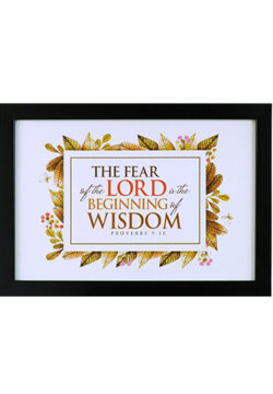 The Fear Of The Lord Is The Beginning (1)