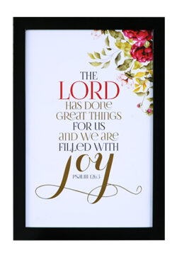The Lord Has Done Great Things For Us