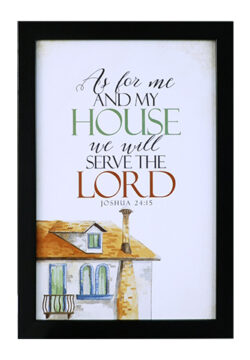 As For Me And My House – 2 …