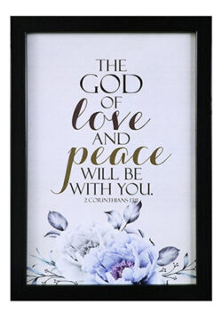 The God of Love and…
