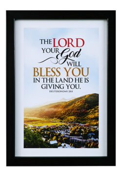 The Lord Your God Will Bless You