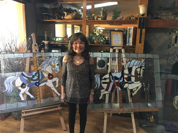 Atsuko Kroetch - Stained Glass Artist