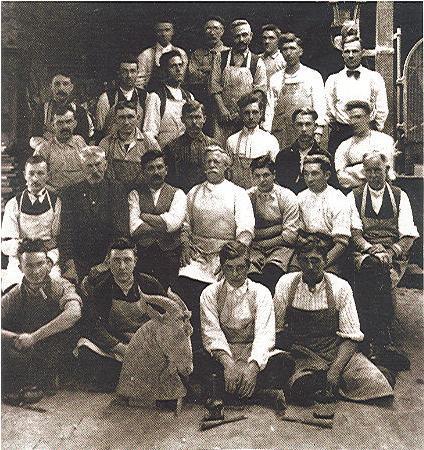 Herschel Spillman carvers 1915