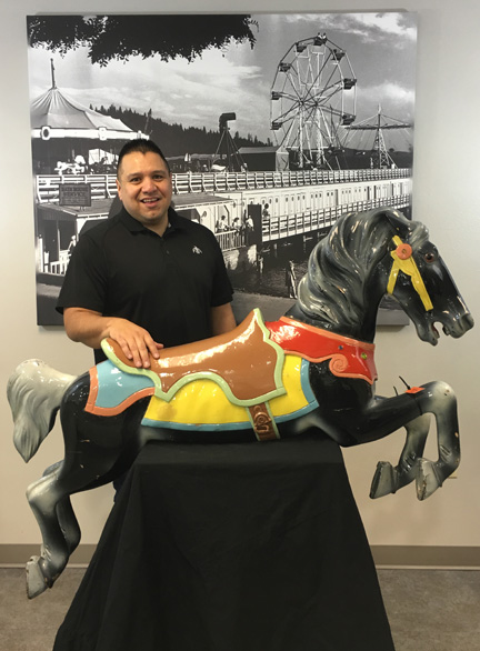The CdA Tribe adopts a pony: Chief Allan