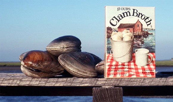 St Ours Clam Broth made from fresh clams
