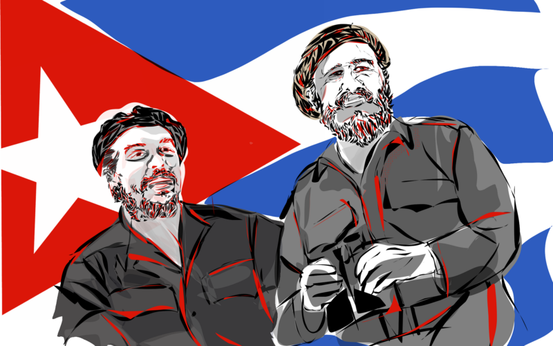 Fidel Castro, Che Guevara and the Cuban Revolution