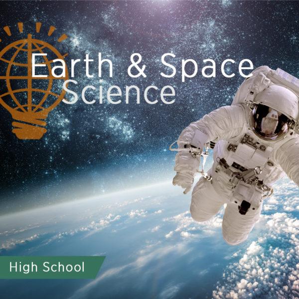 astronaut above earth
