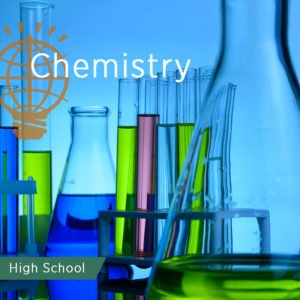 Chemistry vials and bottles