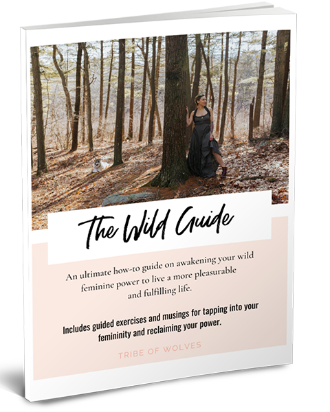 Tribe of Wolves Wild Guide Book