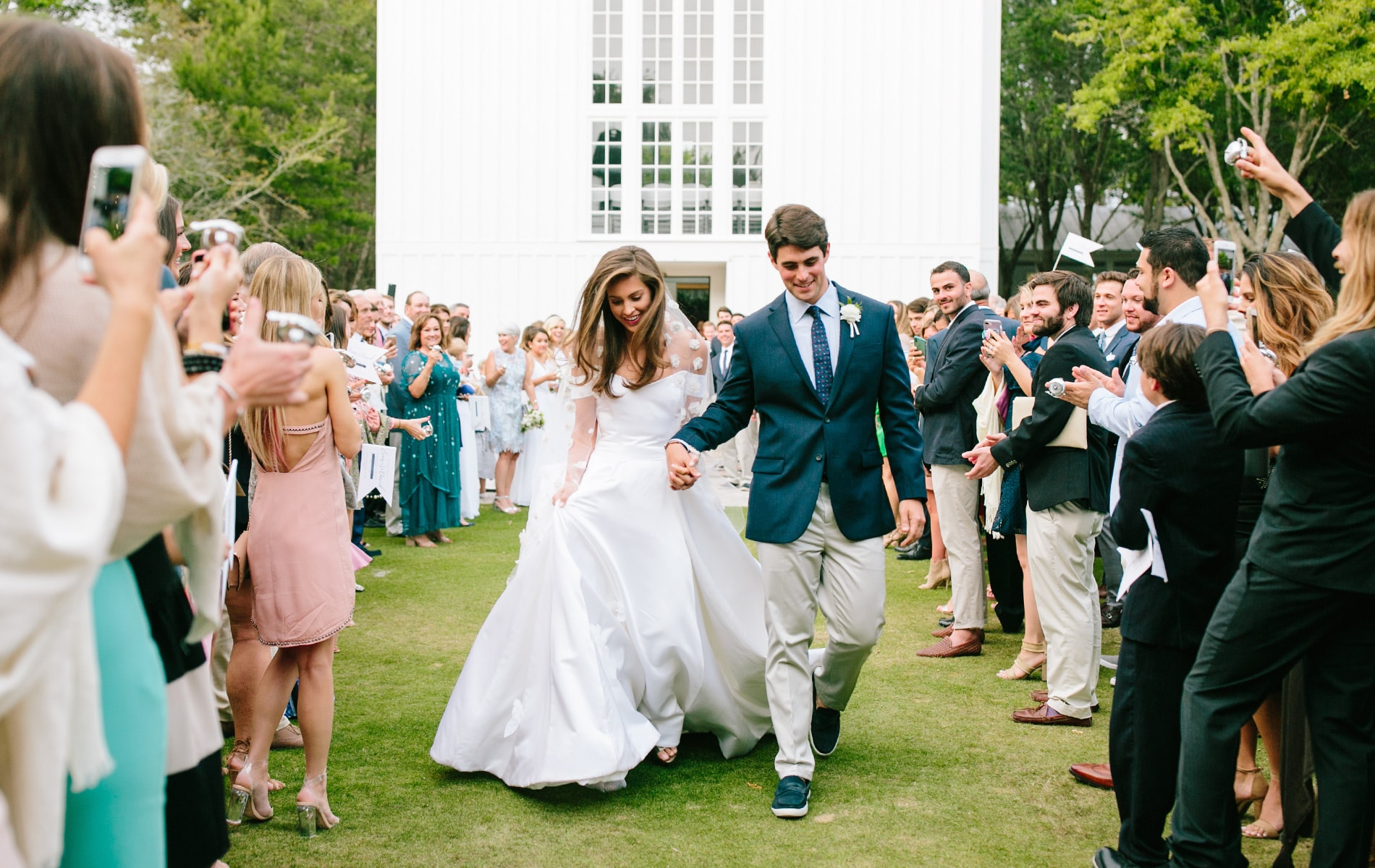Evan & David Wedding at The Chapel at Seaside, Photos by Millie Holloman Photography