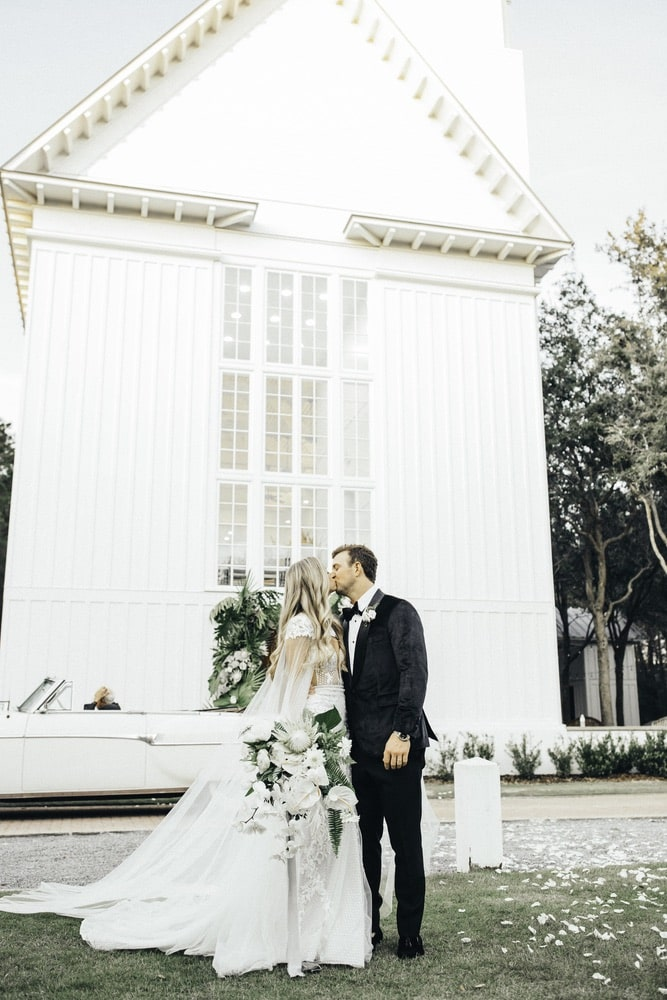 Courtney & Kyle Wedding at The Chapel at Seaside, Photos by Lauren Bailey Photography