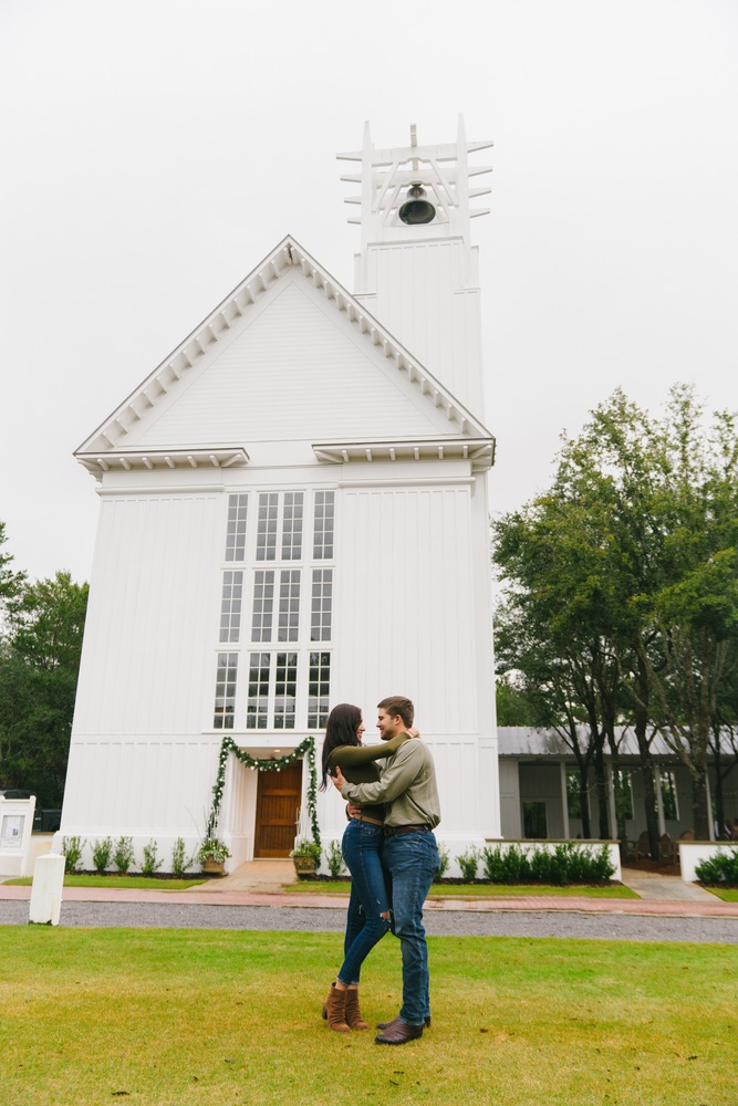 Katlyn & Mitchell Proposal at The Chapel at Seaside, Photography by Pure 7 Studios