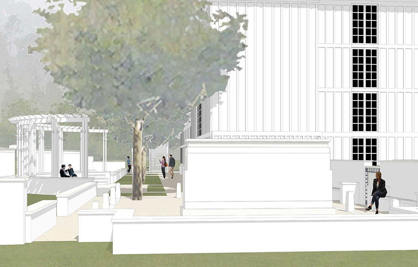 The Chapel at Seaside - Garden of Memories Rendering
