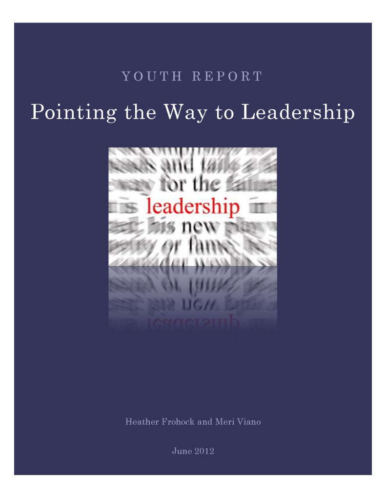 Pointing the Way to Leadership