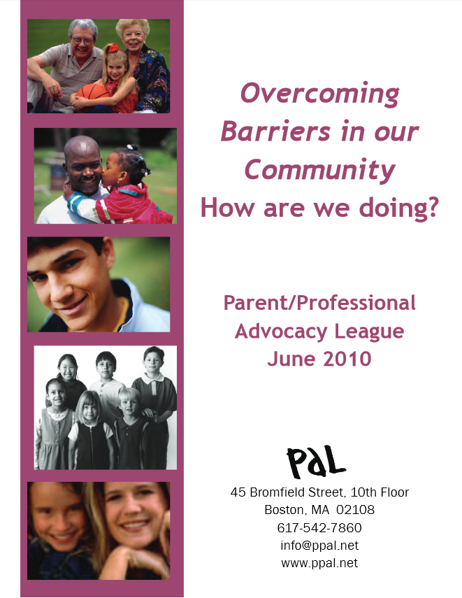 Overcoming Barriers in Our Community: How are we Doing?