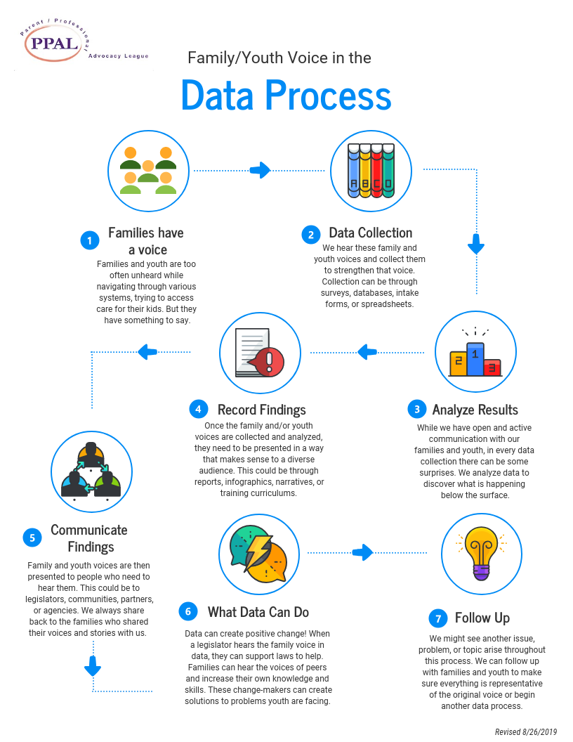 Data Process: Family Voice to Positive Change