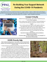 Re-Building Your Support NetworkDuring the COVID-19 Pandemic