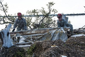 CERF-P route clearance crews search ships in Naval Air Station Key West