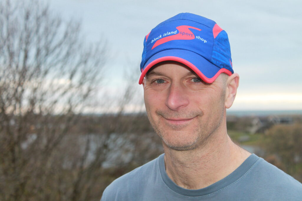 Sport Shop Run Hat Red / Blue Model