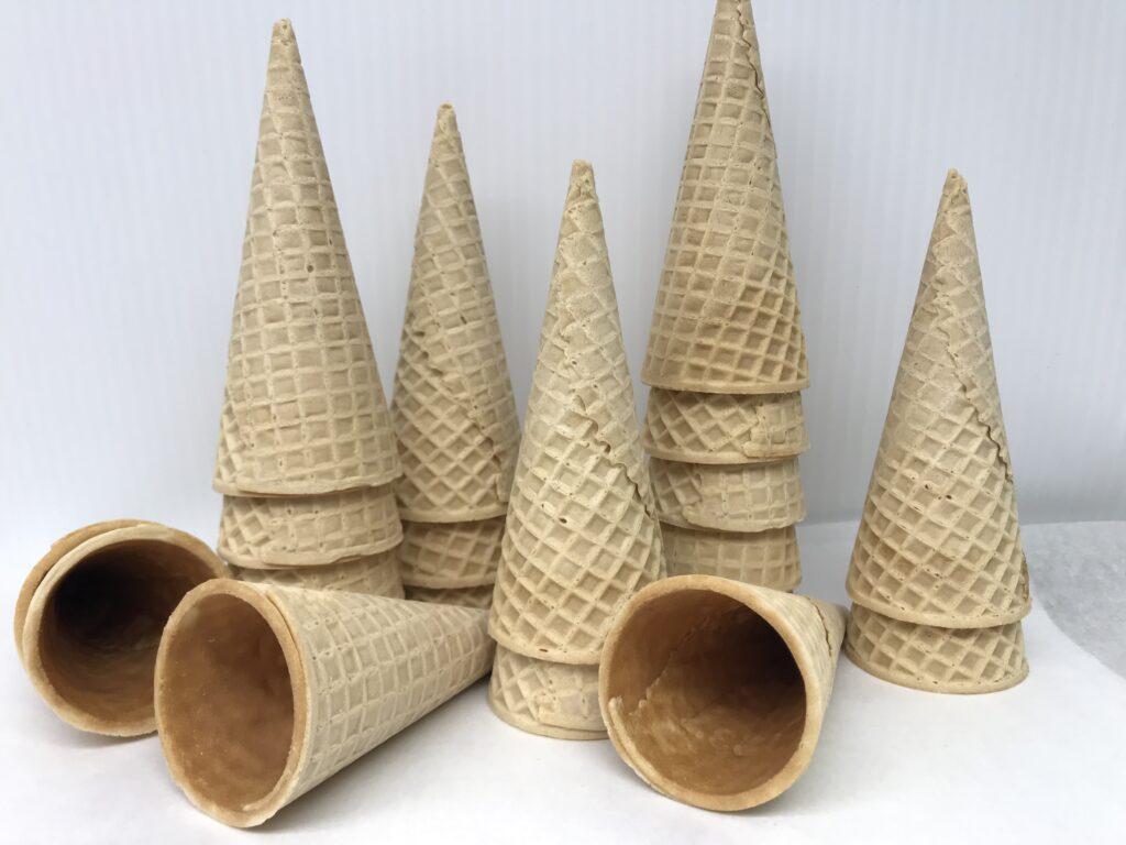 Four Pack Sugar Cones