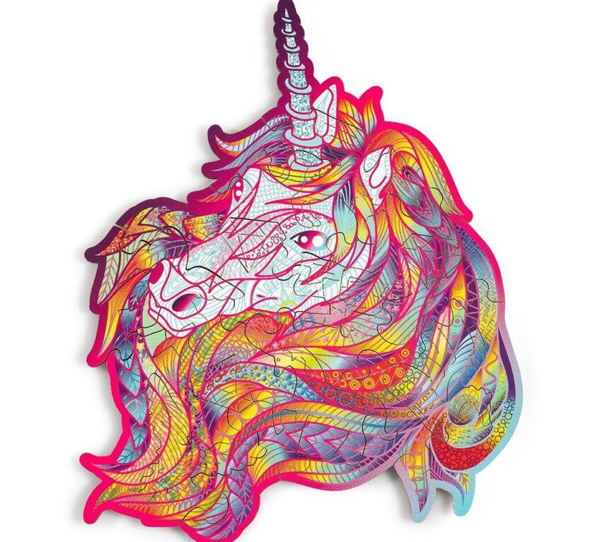 Blue Blaze Unicorn (mini color puzzle)