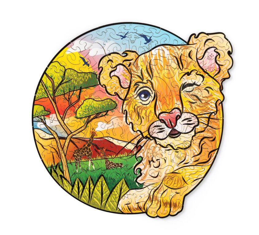 Playful Little Lion