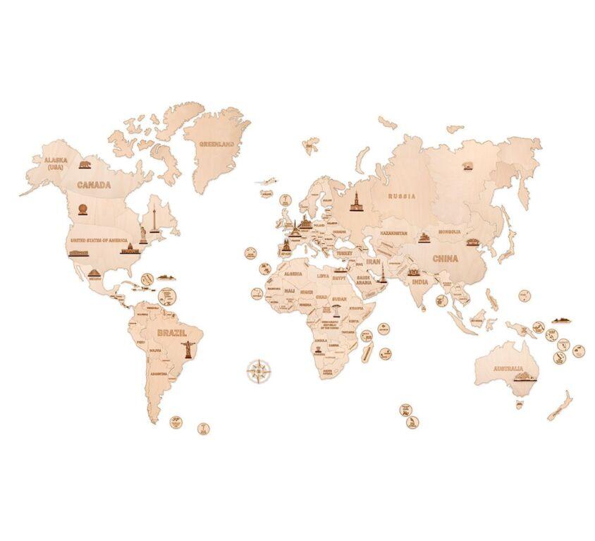 World Map XXL size