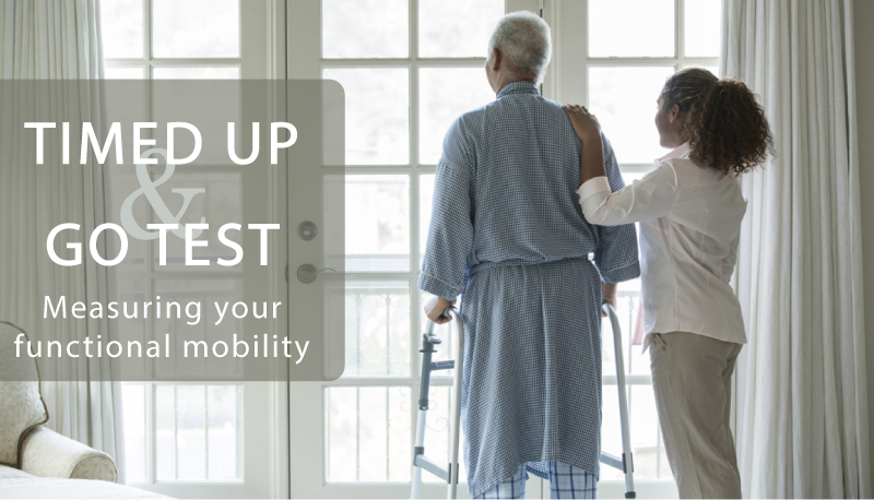 Check your functional mobility with the Timed Up & Go Test