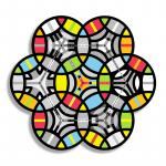 Seven Circles and a Hexagon