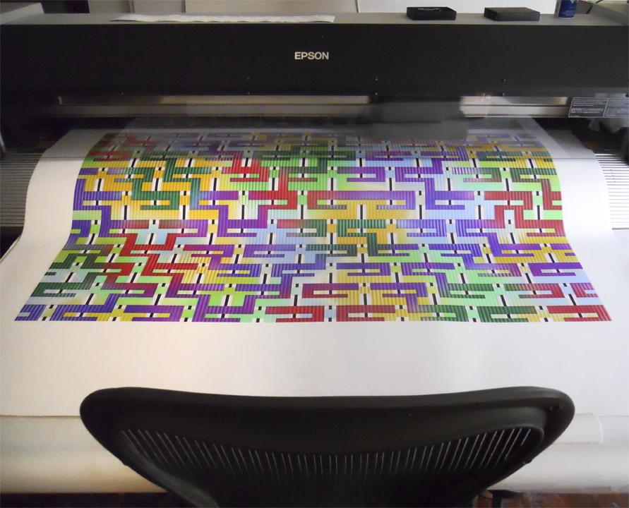 Mysterium being printed