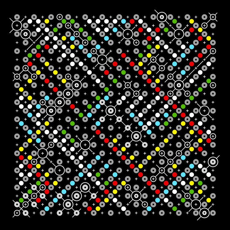 Artwork Dot-Scape II by Andrew Reach
